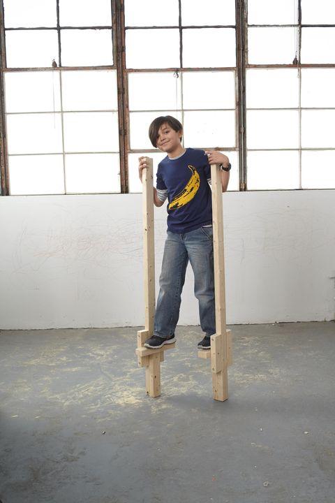 Standing, Fixture, Knee, Concrete, Daylighting, Ladder, Balance,