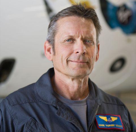 Test Pilot Mark Stucky
