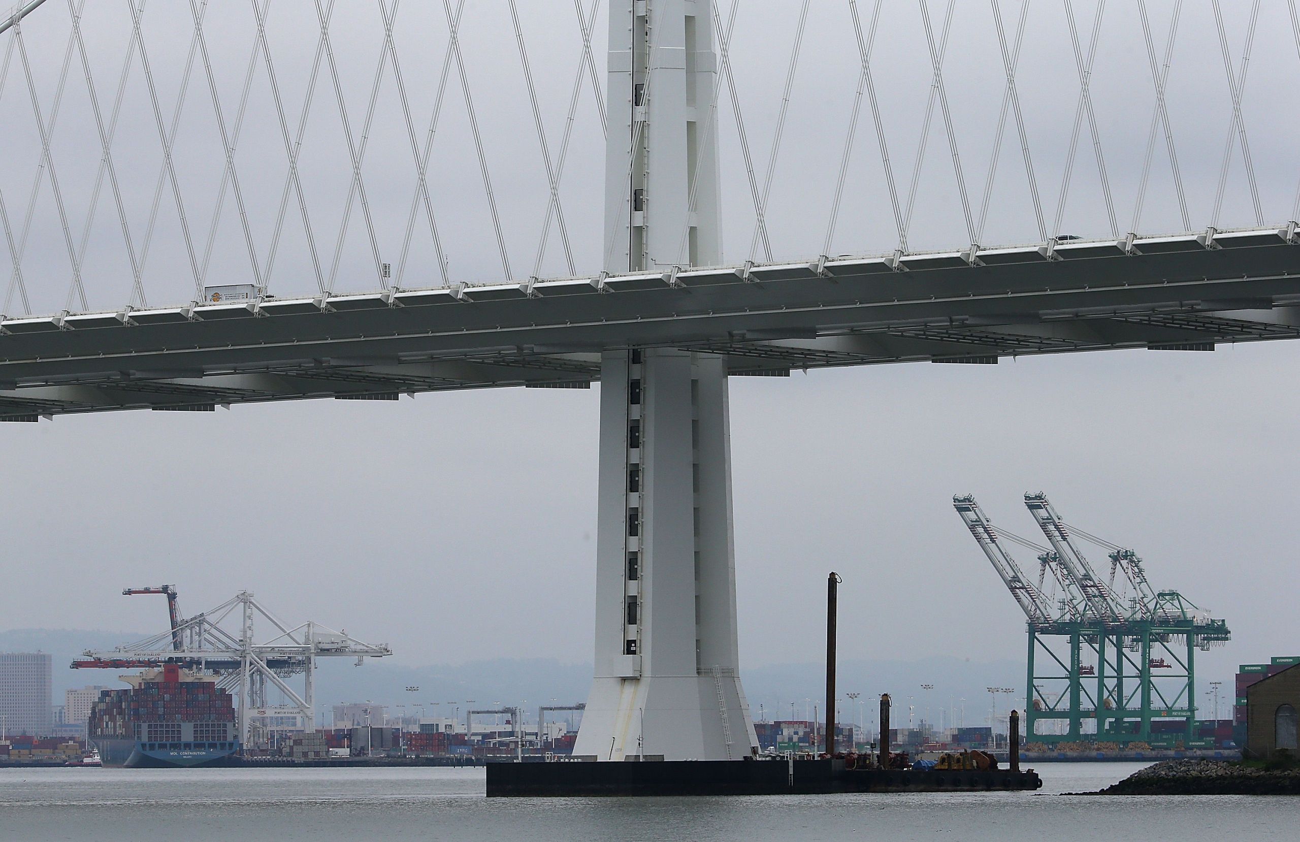 San Francisco Bay Bridge News Gets Worse: Tower Rod Fails Key Test