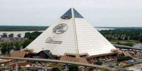 Look Inside Memphis' Weird New Pyramid Bass Pro Shop