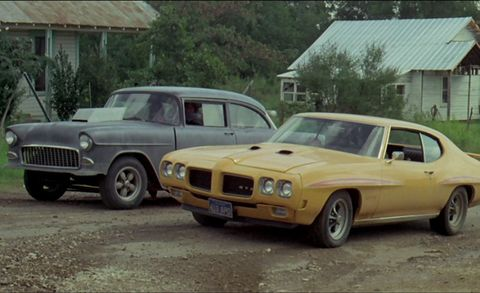 Chevrolet 150 and Pontiac GTO Judge