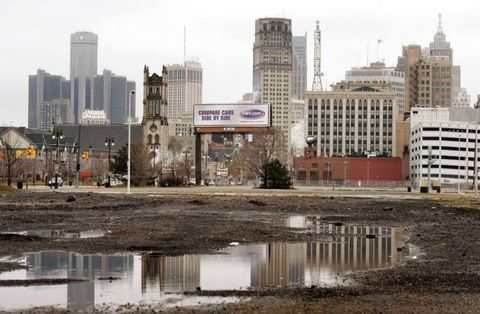 Detroit has the least parking availability and highest car insurance prices in America, with .49 parking lots or garages per 1,000 commuters and an egregious $4,924.99 insurance premium - that's 3 1/2 times more than the average American's insurance costs. NerdWallet credits Detroit's high car theft rate as part of the reason for the expensive insurance.