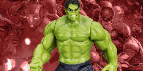 Hulk, Muscle, Jaw, Organ, Superhero, Chest, Fictional character, Bodybuilder, Avengers, Trunk,