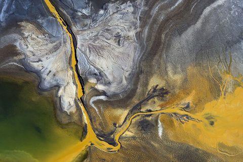 Yellow, Art, Geological phenomenon, Art paint, Painting, Visual arts, Paint, Illustration, Drawing, Artwork,