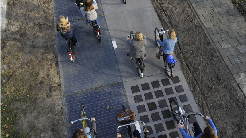 The Netherlands' Solar Bike Path Is a Shining Success