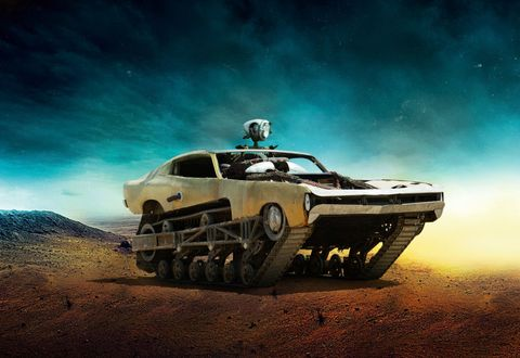 This Gonzo Tank Is The Real Star Of Mad Max Fury Road