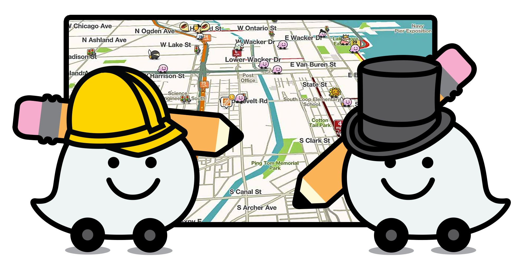 How Waze Creates its Maps with Volunteers