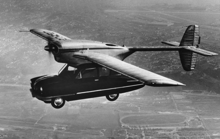 The Long, Weird History of the Flying Car