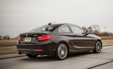 "Base price: $33,050  <a href=""http://www.caranddriver.com/bmw/2-series"" target=""_blank"">The 2-series</a> is every bit as good to drive—if not better—than the car it replaced in BMW's lineup, the E82 1-series, but it's a damn sight more attractive. In fact, to find a better-looking current Bimmer, you're going to have to spend nearly $80,000 for a <a href=""http://www.caranddriver.com/bmw/6-series-gran-coupe"" target=""_blank"">6-series Gran Coupe</a>."