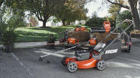 Product, Mower, Rim, Walk-behind mower, Lawn, Garden, Alloy wheel, Machine, Lawn mower, Yard,