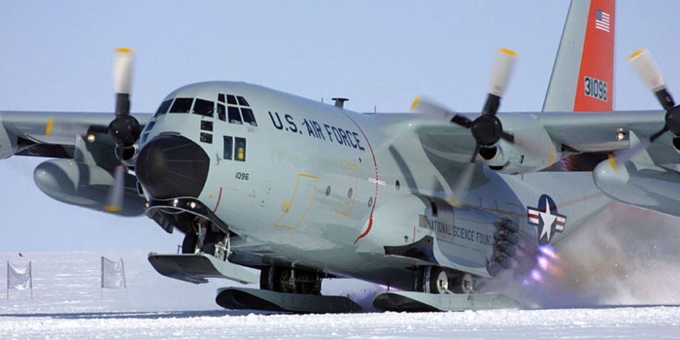 Coolest Plane on Earth: How the LC-130 Flies to Greenland and Antarctica