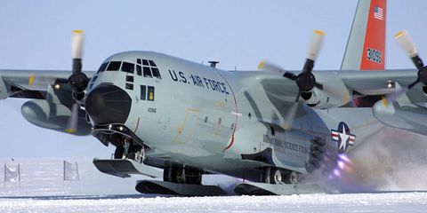 Coolest Plane on Earth: How the LC-130 Flies to Greenland