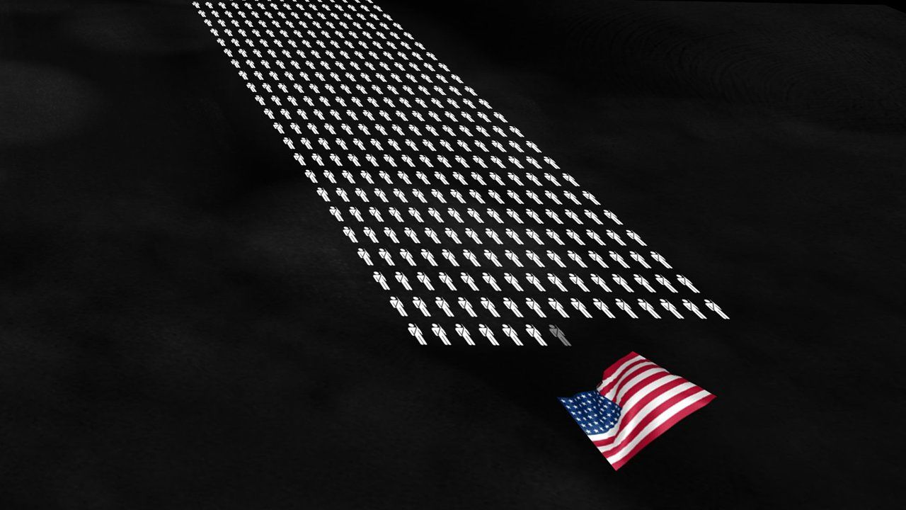 This Video Is a Staggering Visualization of How Many People Died in WWII