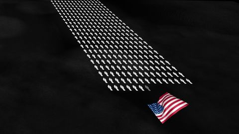 Flag, Flag of the united states, Line, Pattern, Parallel, Flag Day (USA), Memorial day, Independence day, Triangle, Symbol,