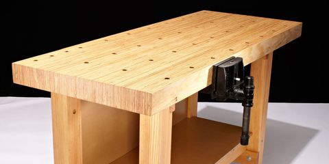 Wondrous How To Build This Diy Workbench Dailytribune Chair Design For Home Dailytribuneorg