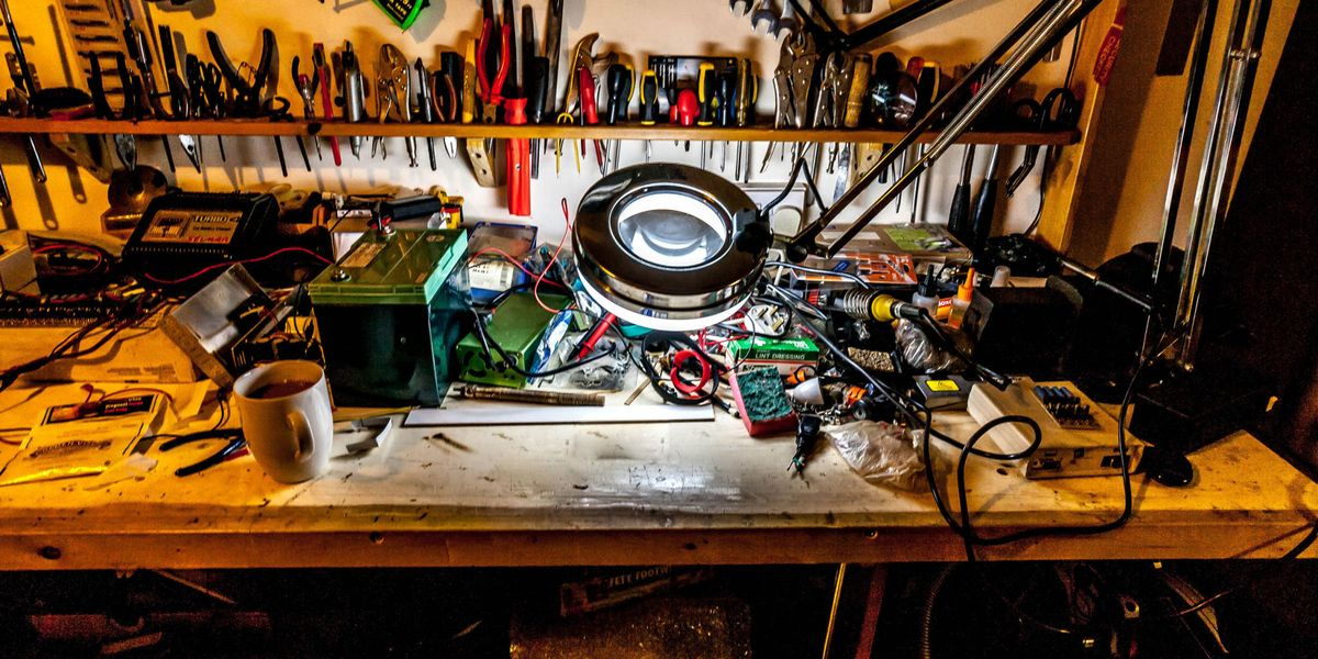 How to build the perfect workshop -- Tools every garage should have | Wiring Plan Home Woodshop |  | Popular Mechanics
