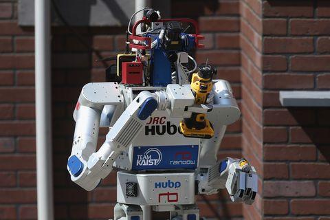 Brick, Brickwork, Technology, Machine, Space, Mecha, Fictional character, Robot, Electric blue, Toy,