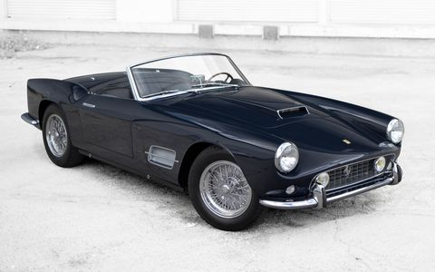 Sotheby's auction house calls it the Pinnacle Collection, potentially the most expensive array of cars ever assembled for one gavel-pounding day of auctions.