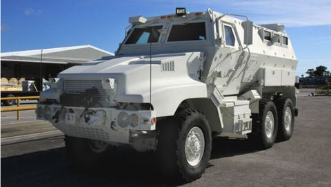 Check Out NASA's Righteous Armored Escape Van