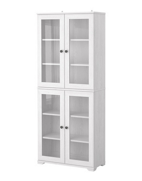 "<p>This <a target=""_blank"" href=""http://www.ikea.com/us/en/catalog/products/S29908464/"">line of shelves</a> allows you to mix and match cabinets to create different looks.</p>"