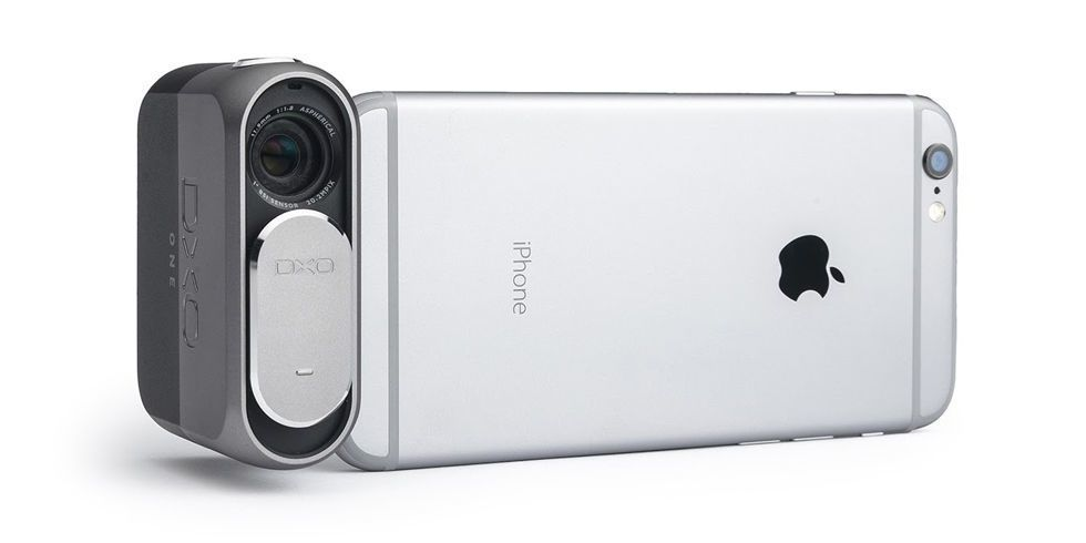 The Bolt-on DxO One Turns Your iPhone Camera Into a DSLR