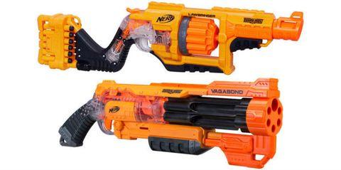 Yellow, Gun, Orange, Red, Line, Amber, Black, Machine, Trigger, Gun accessory,