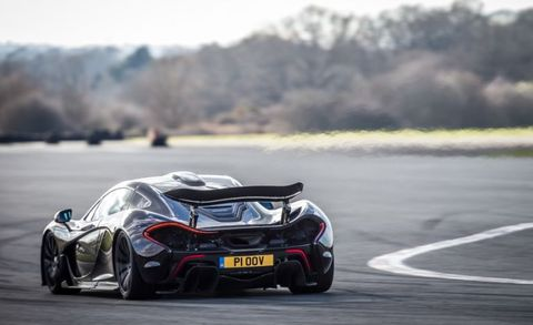 "Here is a rough transcript of what I uttered when I first unleashed the full 903 horsepower of the McLaren P1: ""[Cackle, cackle] Holy [bleep]! That's . . . [cackle]. I, uh . . . wow. [cackle]."" <a href=""http://www.caranddriver.com/reviews/2014-mclaren-p1-test-review"" target=""_blank"">READ MORE >></a>"