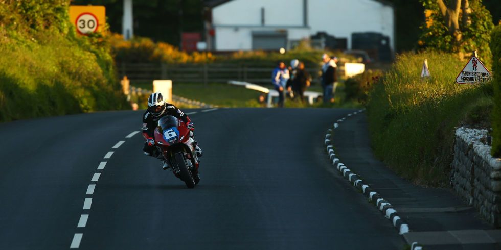 What It Feels Like to Crash a Motorcycle at 120 Mph at the Isle of Man TT