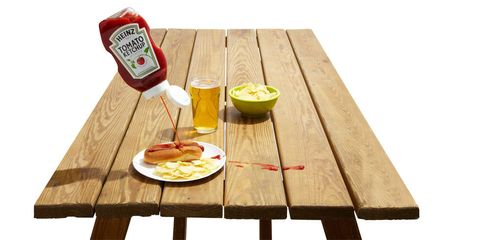 How To Restore A Picnic Table - Popular mechanics picnic table