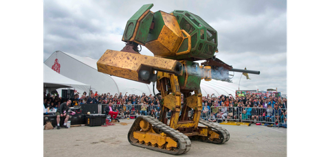 Machine, Tent, Robot, Fictional character, Synthetic rubber,