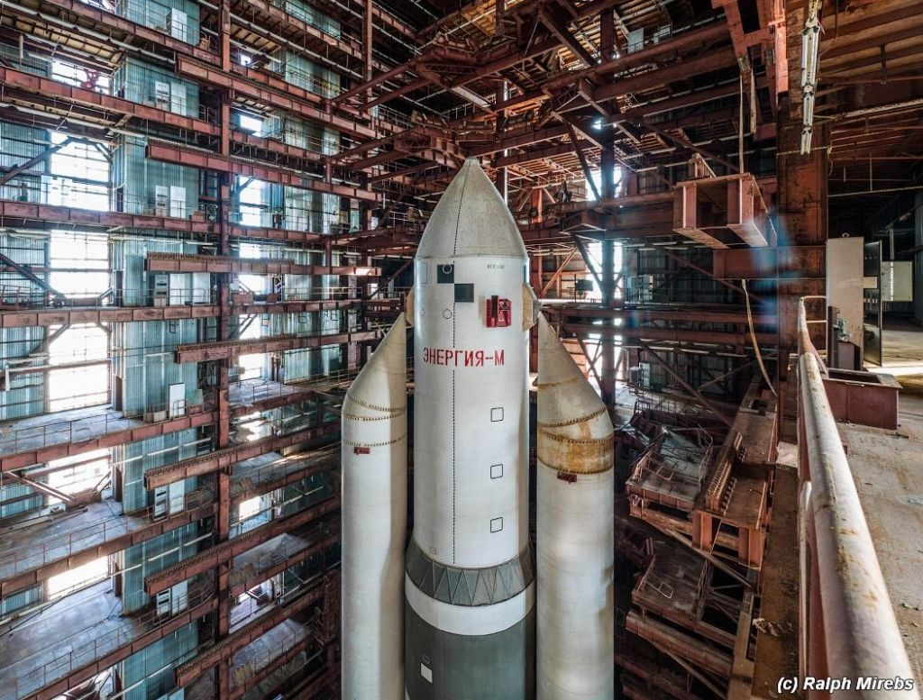 This Immense Russian Rocket Was Abandoned For Decades