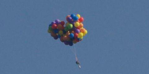 Nature, Blue, Daytime, Colorfulness, Photograph, Balloon, Magenta, Azure, Aqua, Travel,