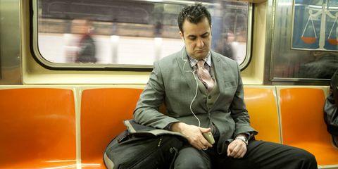 Mode of transport, Transport, Comfort, Sitting, Shoulder, Passenger, Joint, Public transport, Train, Metro,