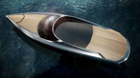 Watercraft, Metal, Reflection, Boat, Space, Material property, Gloss, Silver, Boats and boating--Equipment and supplies, Water transportation,