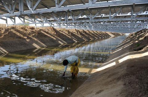 Water resources, Bridge, Reservoir, Wetland,