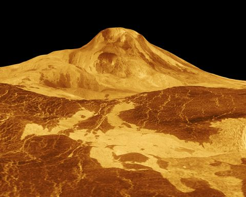 Geology, Summit, Volcanic landform, Volcano, Arête,