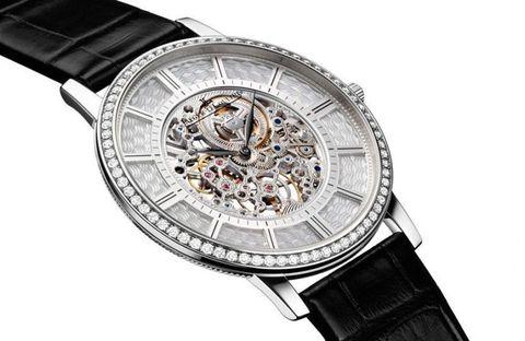 Product, Analog watch, Watch, Glass, Watch accessory, Font, Metal, Fashion, Black, Grey,