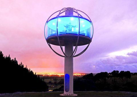 Blue, Purple, Magenta, World, Evening, Aqua, Electric blue, Dusk, Sphere, Gas,