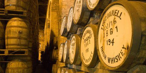 Barrel, Winery, Wine cellar, Distilled beverage,