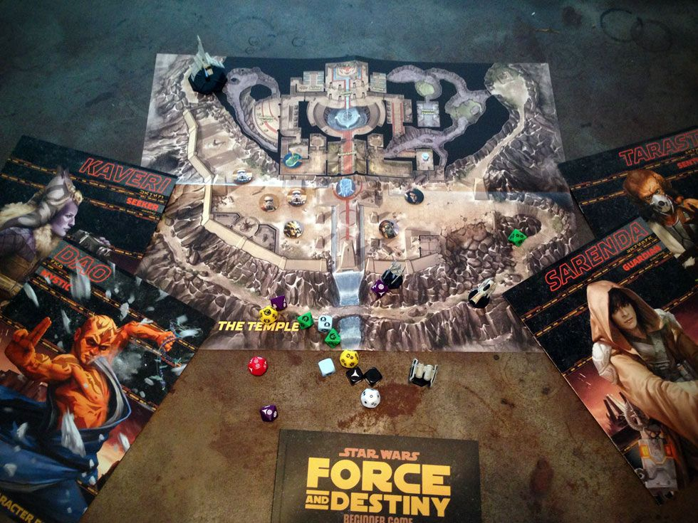 The New Star Wars Tabletop RPG Is Just as Nerdy and Awesome as It Sounds