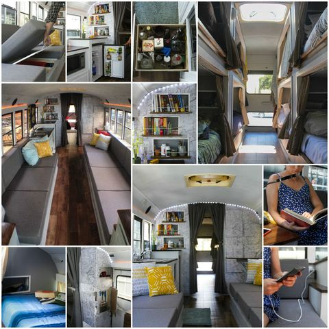 How 8 College Kids' DIY Project Made a School Bus a Dream
