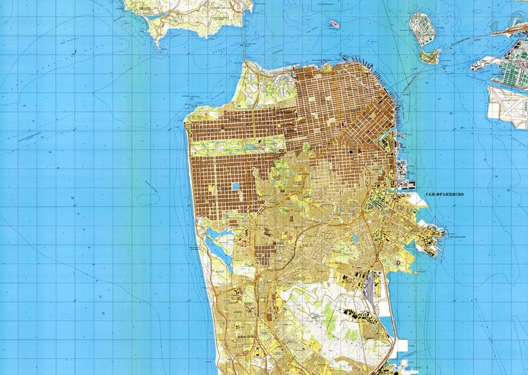 These soviet maps of america are incredibly detailed wired has a fantastic feature on some of the most intricate and unsettling maps weve ever seen the soviet military or some other faction within the gumiabroncs