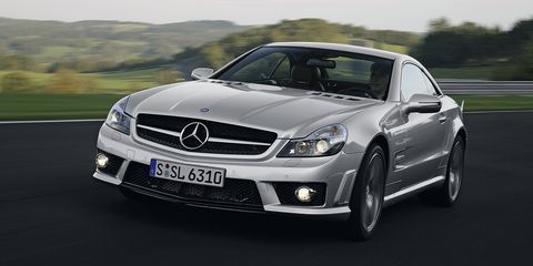 <p>This SL63 was svelte and quietly aggressive.</p>