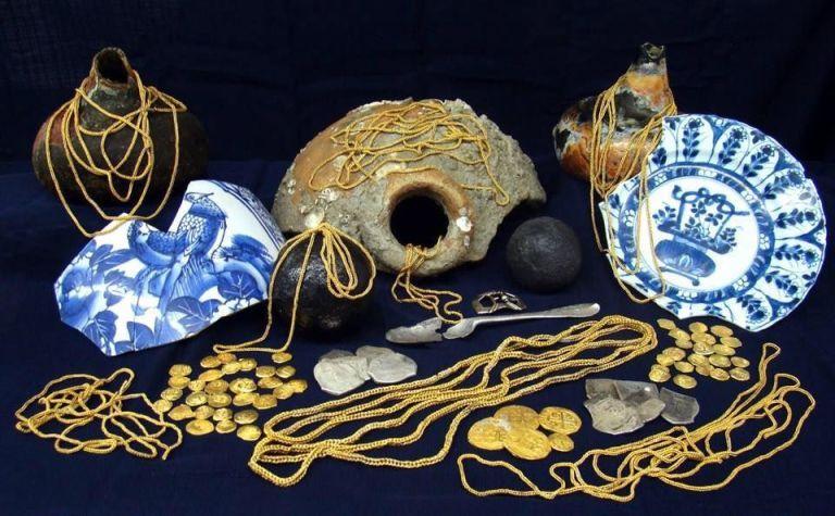 Million-Dollar Shipwreck Treasure Found Off the Florida Coast