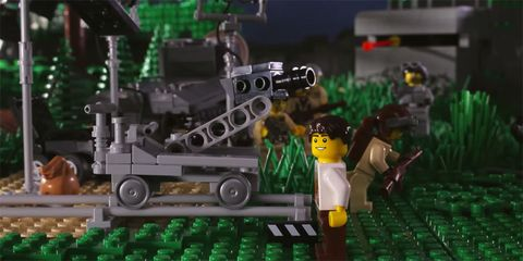 Green, Toy, Space, Construction set toy, Lego, Engineering, Machine, Fictional character, Combat vehicle, Scale model,