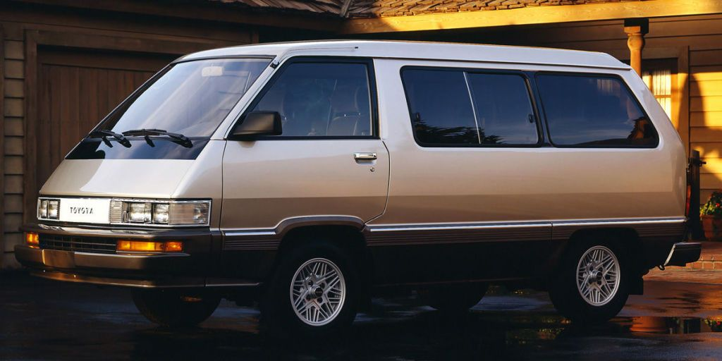 That Time Toyota Put an Icemaker in its 1984 Van