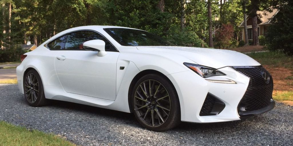 The Lexus RC-F Is a V8 Beast in a Turbo World