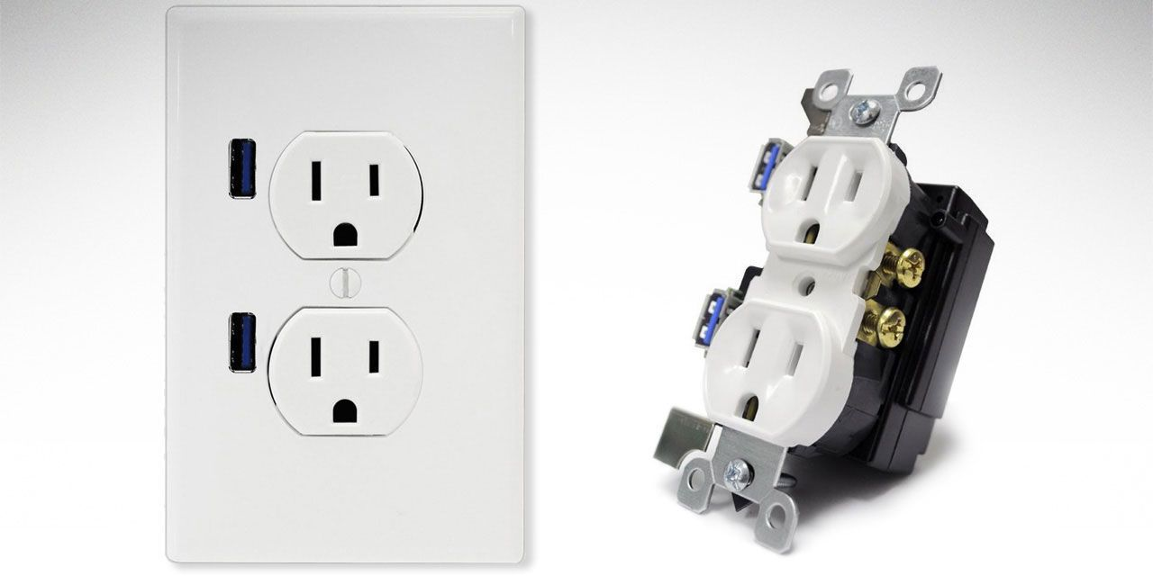 landscape 1438970767 usb wall plugjpg?resize=768 * install an electrical outlet with built in usb ports wall socket wiring at aneh.co