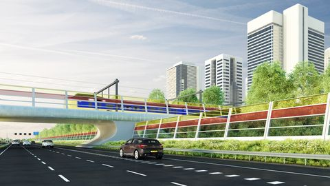 Motor vehicle, Road, Mode of transport, Transport, Infrastructure, Metropolitan area, Road surface, Tower block, Asphalt, Highway,