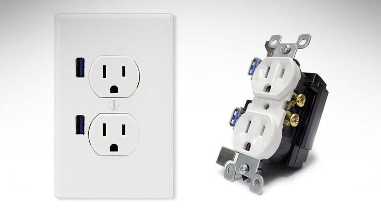 Install An Electrical Outlet With Built in USB Ports